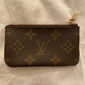 """Louis Vuitton Monogram """"Key Pouch"""""""